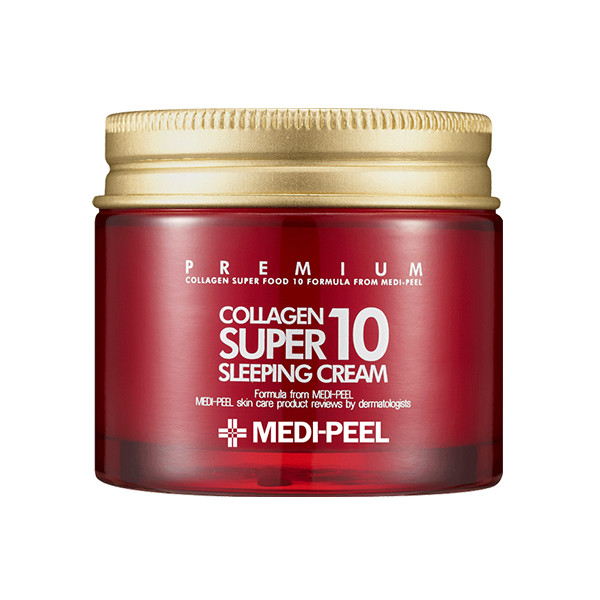 Ночной крем для лица с коллагеном Medi-Peel Collagen Super 10 Sleeping Cream