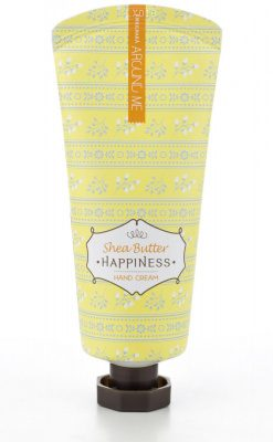 Крем для рук с маслош ши Welcos Around Me Happiness Hand Cream Shea Butter